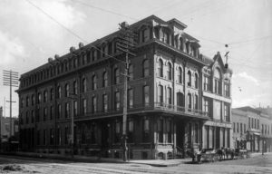 Barney Ford's InterOcean Hotel, Denver, Colorado, ca. 1880 (Denver Public Library)